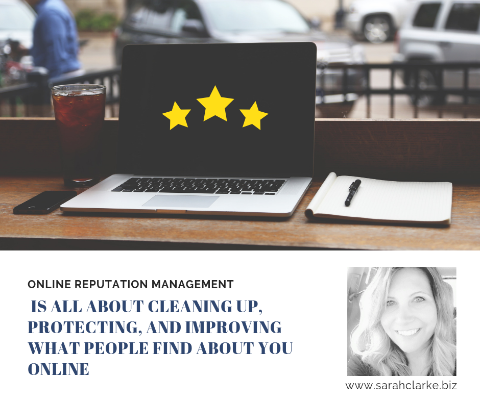 Online reputation management is all about cleaning up, protecting, and improving what people find about you online