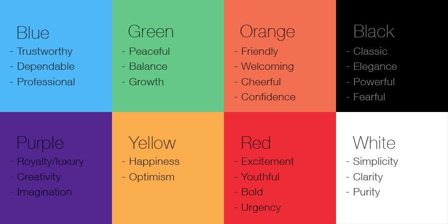 color physchology for business