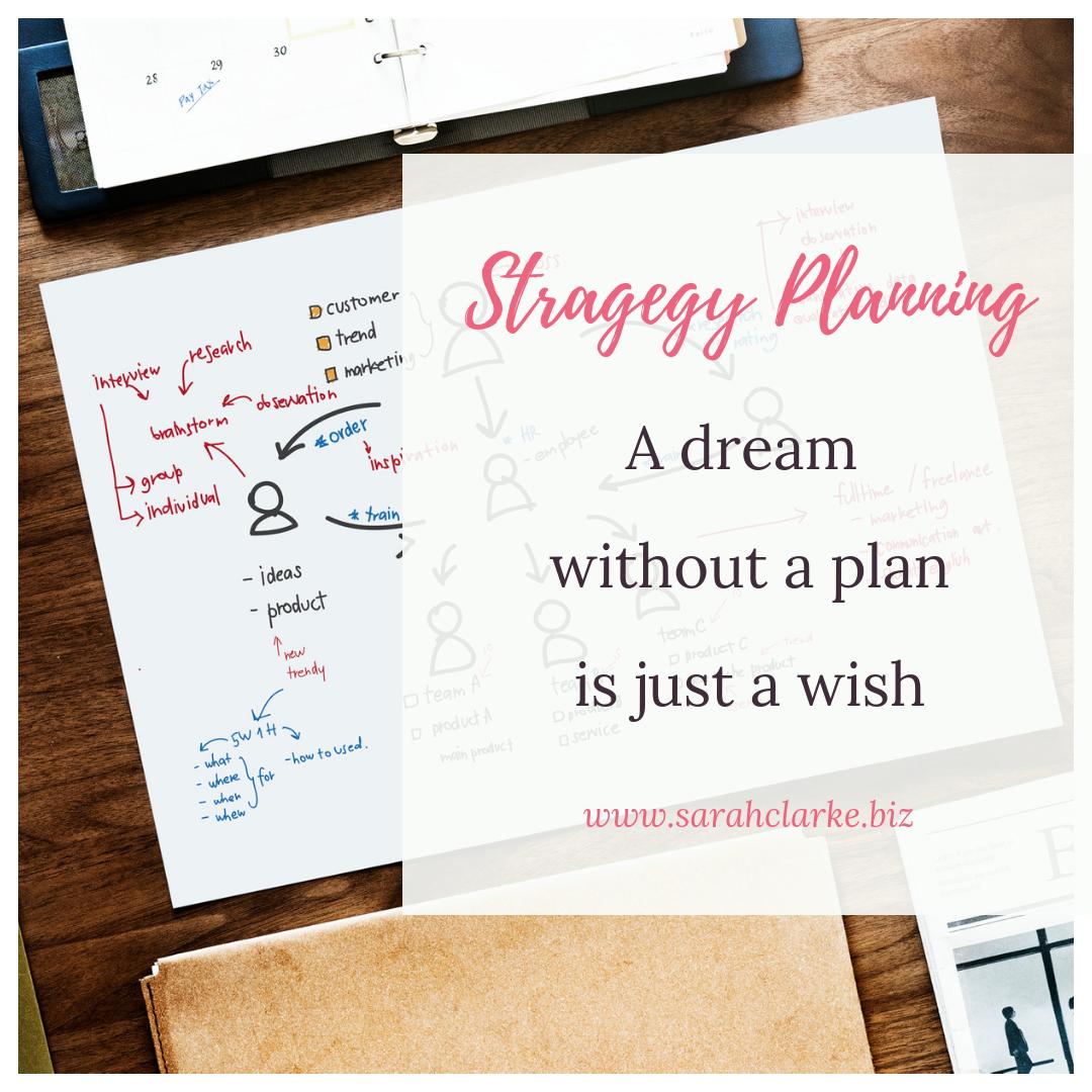 Strategy Plan to Meet Business Goals