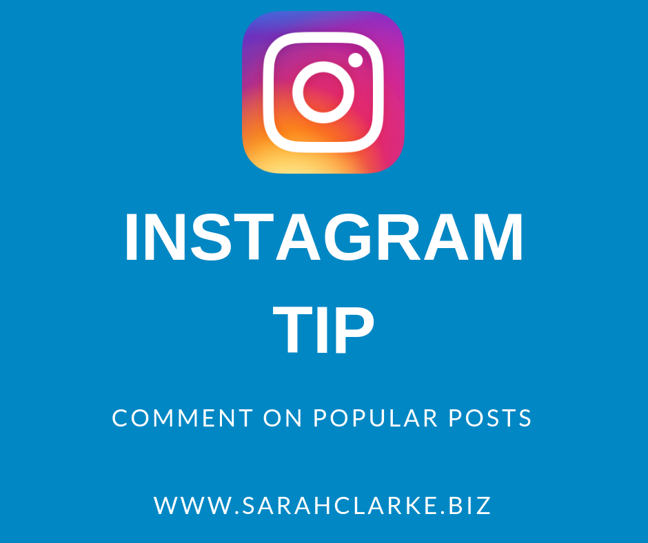 Instagram Tip Comment on Popular Posts to Increase your own Engagement