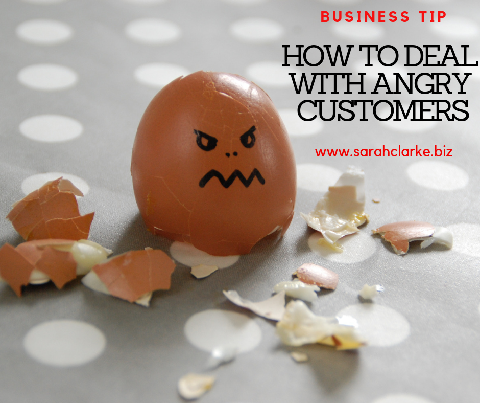 4 Tips on How to deal with an angry customer