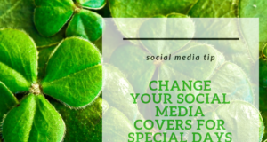 change your social media cover photos for holidays