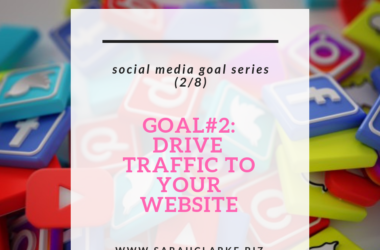 using social media for website traffic