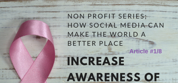 how to increase awareness for your charity using social media