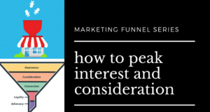 how to peak interest and consideration in your sales funnel