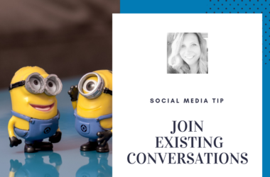 social media tip join in conversations
