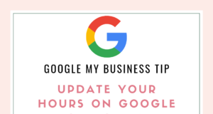 Google My Business Tip