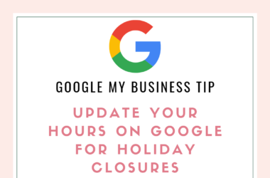 Google My Business Tip