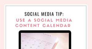 free social media content calendar template