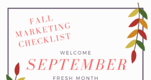 fall marketing checklist