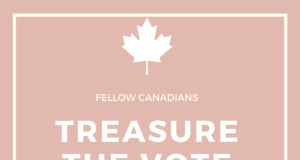 Treasure the vote